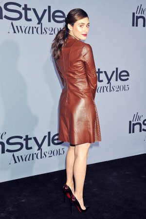 Emmy Rossum attends InStyle Awards