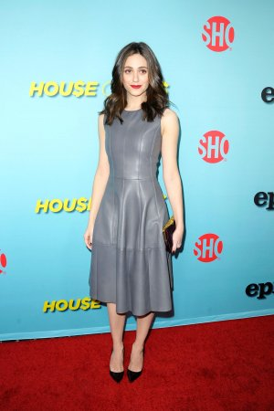 Emmy Rossum attends the Showtime celebration of the all-new seasons of Shameless