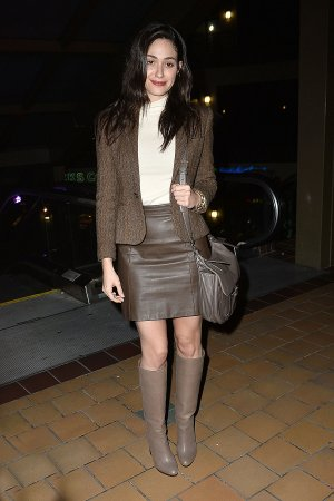 Emmy Rossum enjoys a night out in Los Angeles