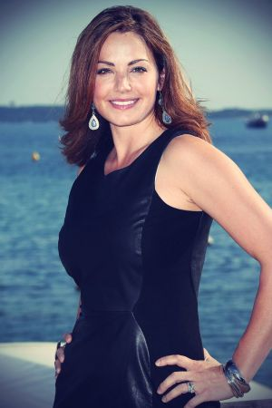 Erica Durance at Photocall for the TV show Saving Hope
