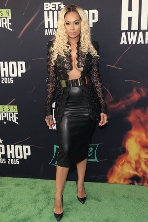 Erica Mena attends the BET Hip Hop Awards