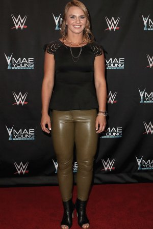 Erica Wiebe at WWE presents the 'Mae Young Clasic' event