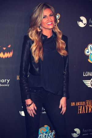 Erin Andrews at 4th Annual Los Angeles Haunted Hayride The Congregation