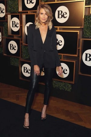Erin Holland arrives at the launch of new online lifestyle destination Be