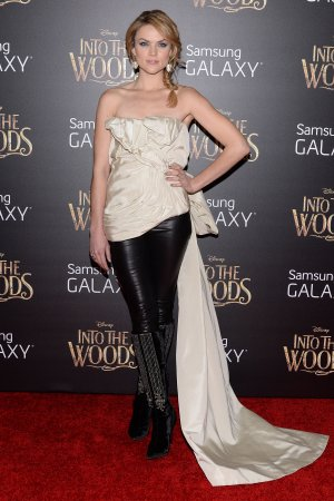 Erin Richards attends Into The Woods Premiere