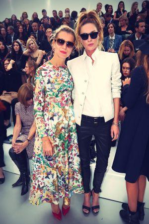 Erin Wasson at the Chanel fashion show