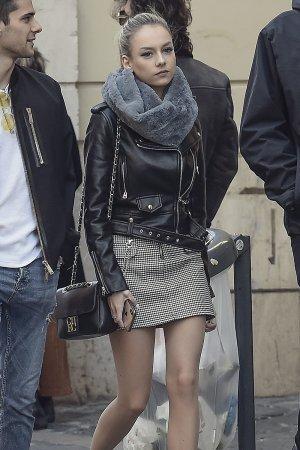 Ester Exposito seen strolling in Rome