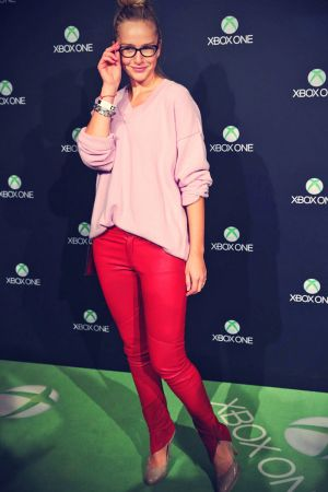 Esther Seibt attends the Microsoft Xbox One launch party