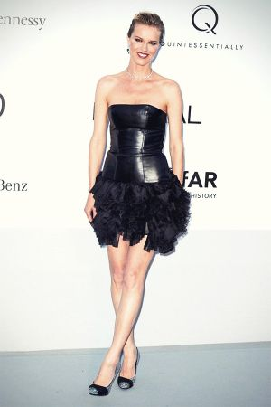 Eva Herzigova attends Cinema Against AIDS amfAR Gala