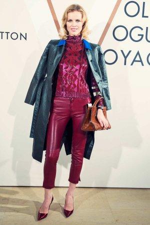 Eva Herzigova attends Louis Vuitton exhibition opening
