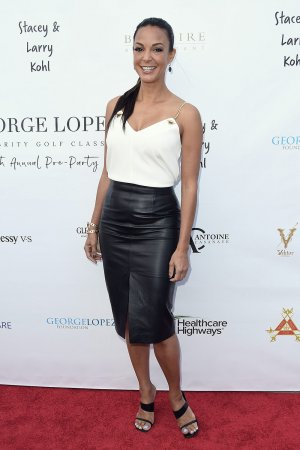 Eva LaRue attends George Lopez Golf Classic Pre-Party