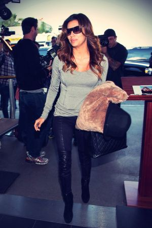 Eva Longoria at LAX Airport