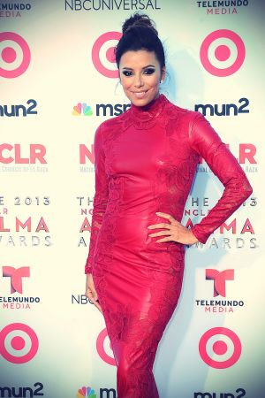 Eva Longoria attends 2013 NCLR ALMA Awards
