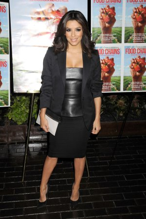 Eva Longoria attends Food Chain Premiere