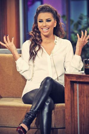 Eva Longoria on the Tonight Show with Jay Leno