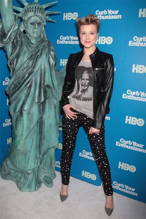 "Evan Rachel Wood at Screening of the 8th Season Premiere of ""Curb Your Enthusiasm"" in LA"