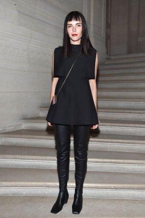 Evangelie Smyrniotaki attends the Valentino Haute Couture Spring Summer 2017 show