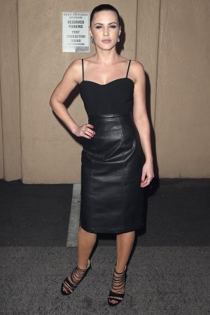 Eve Mauro attends The Oath TV series premiere