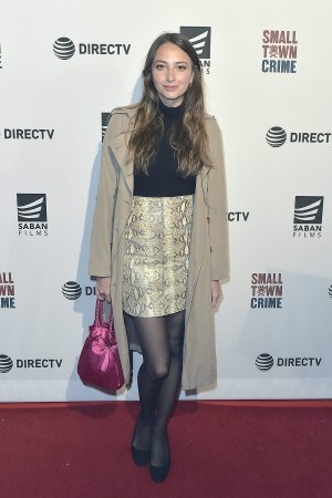 Fabianne Therese attends The Los Angeles Special Screening of Small Town Crime