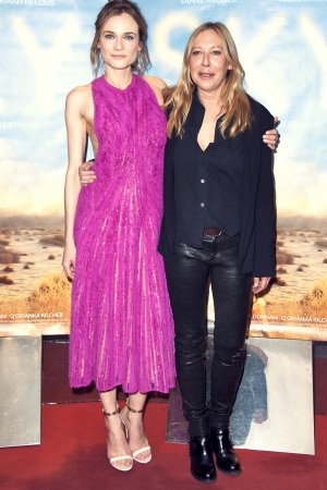 Fabienne Berthaud attends the 'Sky' Paris Premiere