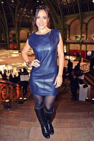 Fabienne Carat attends FIAC 2015 Orange Party Inauguration