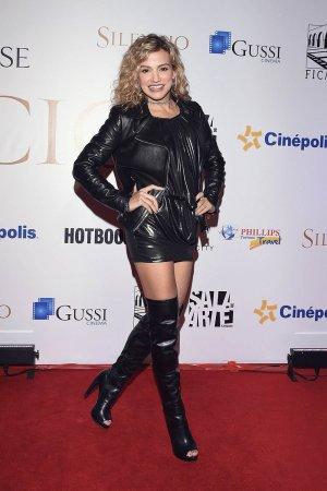 Fanny Lu attends Silence film premiere