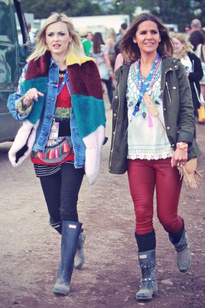 Fearne Cotton attends Glastonbury Festival
