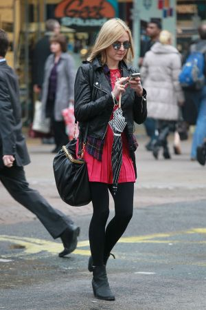 Fearne Cotton out and about in central London