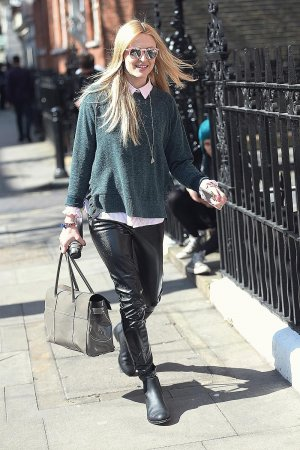 Fearne Cotton seen at BBC Studios