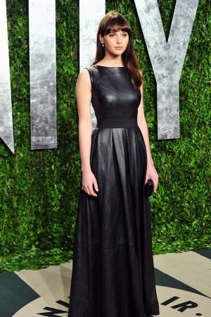 Felicity Jones at Vanity Fair Oscar Party