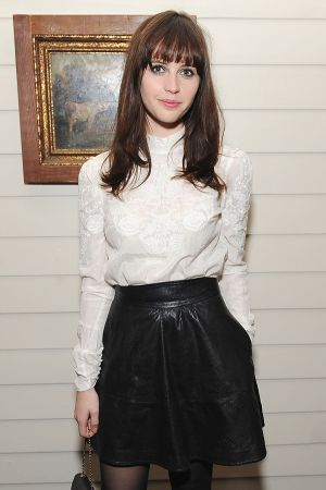 Felicity Jones attends BVLGARI Celebrates the Holidays