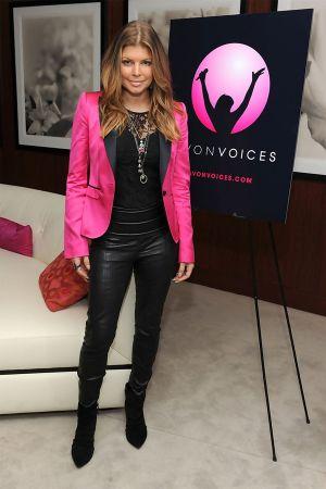 Fergie at Avon Voices Launch Event