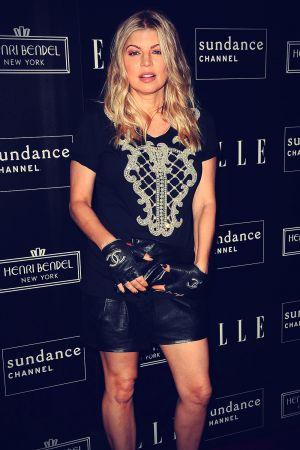 Fergie at ELLE & Sundance Channel