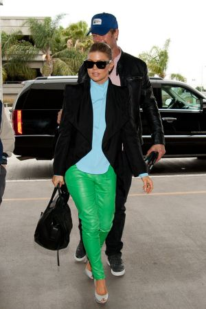 Fergie at LAX