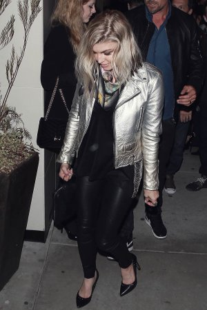 Fergie Duhamel outside Catch Restaurant