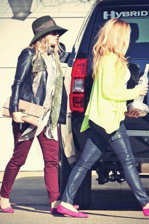 Fergie is seen running errands in LA