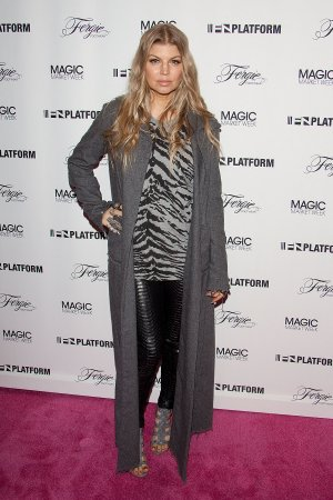 Fergie launch of her new collection Fergie Footwear