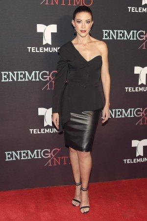 Fernanda Castillo attends Enemigo Intimo TV show premiere