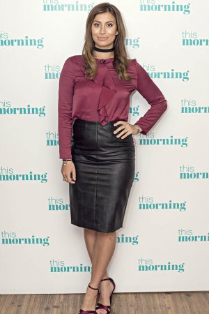 Ferne McCann at ITV Studios For This Morning