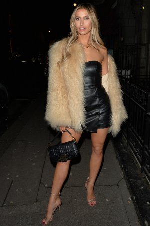 Ferne McCann at Mayfair Hotspot