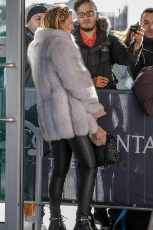 Ferne McCann at the O2 Hotel