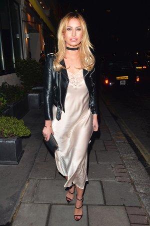 Ferne McCann out in London