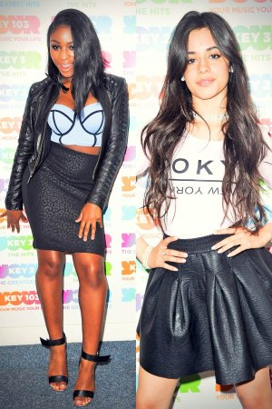 Fifth Harmony at Radio Station Key 103 in Manchester