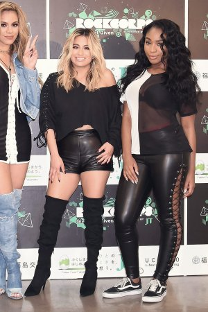 Fifth Harmony attend RockCorps