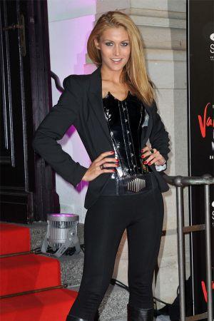 Fiona Erdmann at TANZ DER VAMPIRE premiere in Berlin