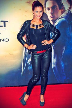 Fiona Erdmann attends City of Bones The Mortal Instruments Premiere
