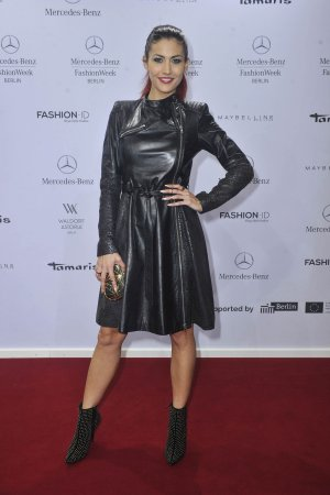 Fiona Erdmann attends Glaw Fashion Show