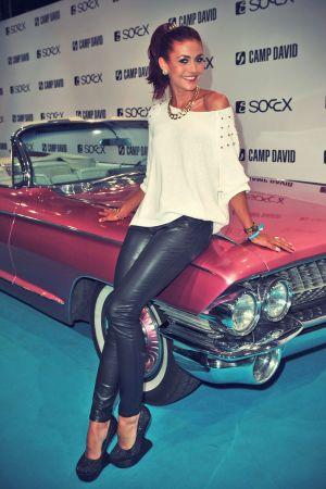 Fiona Erdmann attends the Camp David And Soccx Fashion Night 2013