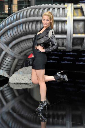 Fiona Erdmann Transformers 3 premiere in Berlin