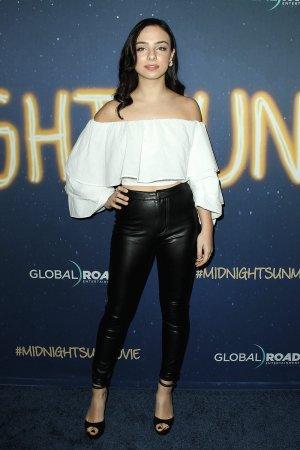 Fiona Palomo attends Midnight Sun Premiere
